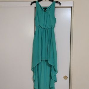 Forever21 Chiffon High-Low Dress